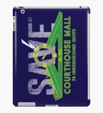 SAVE at the Hill Valley Courthouse Mall iPad Case/Skin