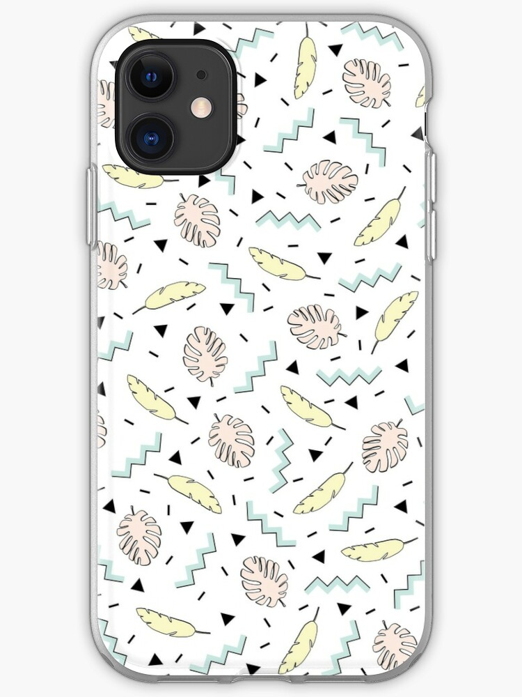 Real White marble Half pastel Mint Green iphone 11 case