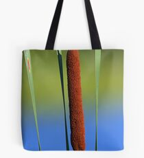 Cattail Blues Tote Bag