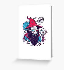 Ooohhh Magic! Greeting Card
