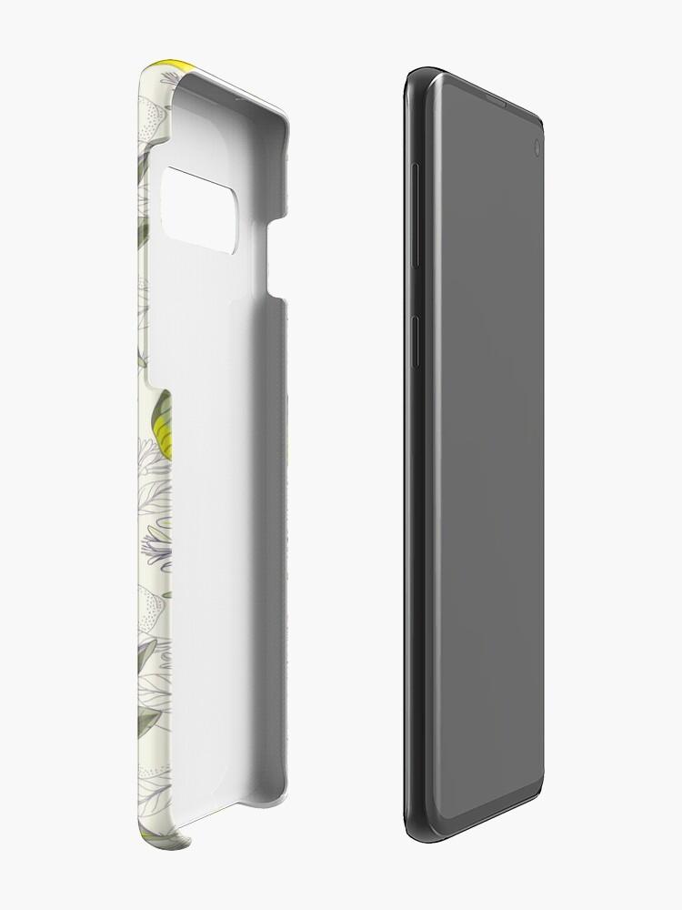 Alternate view of Lemon pattern Case & Skin for Samsung Galaxy