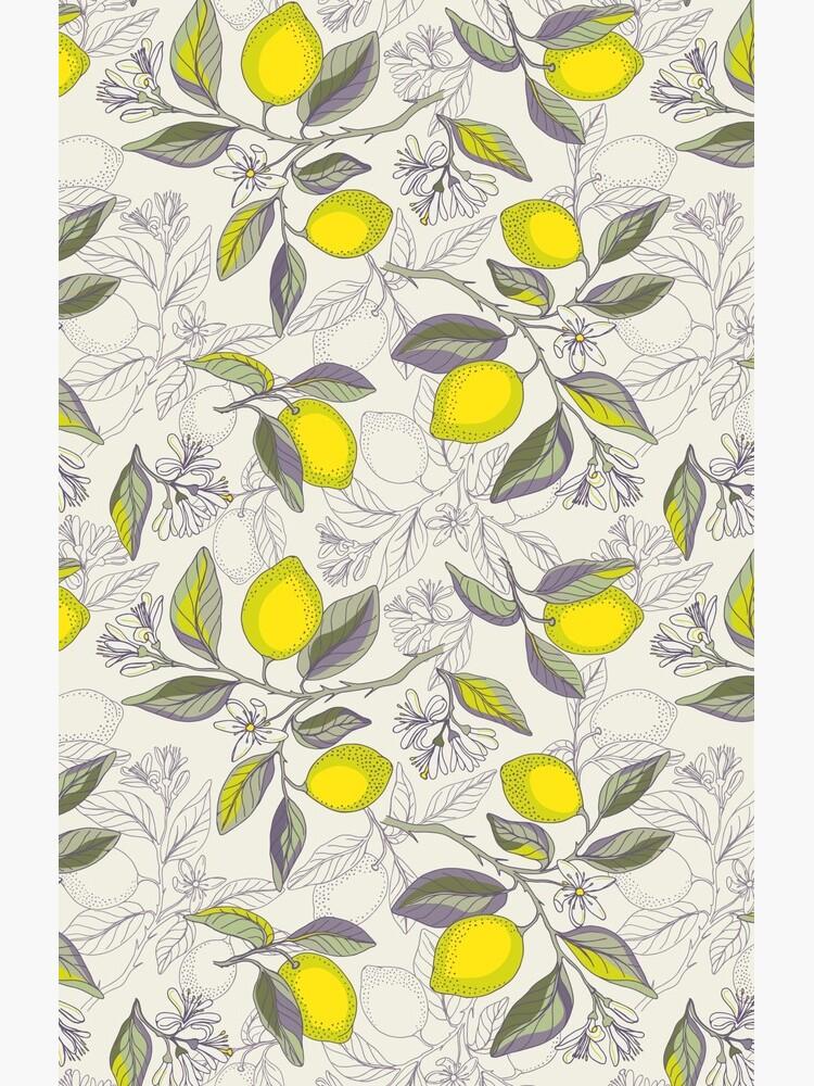 Lemon pattern by olgart