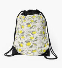 Zitronen-Muster Turnbeutel