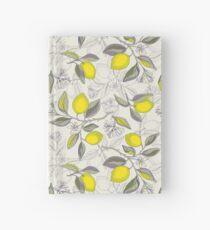 Lemon pattern Hardcover Journal
