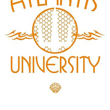 Atlantis University by Arinesart