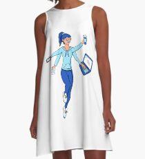 Super Freelance Woman A-Line Dress