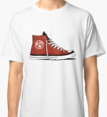 Anarchy Basketball Boot- Anti- establishment Sneaker Classic T-Shirt