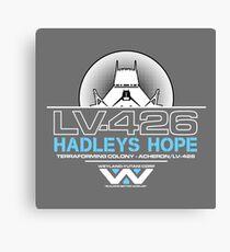 Hadleys Hope - Atmosphere Processing Plant - Aliens Canvas Print