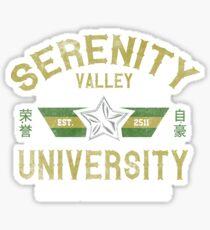 Browncoat University Sticker