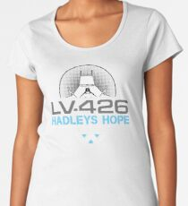 Hadleys Hope - Atmosphere Processing Plant - Aliens Women's Premium T-Shirt