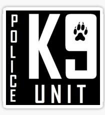 Police K9 Sticker