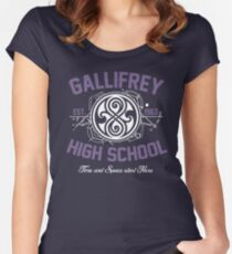Gallifrey High School Women's Fitted Scoop T-Shirt