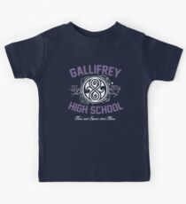 Gallifrey High School Kids Tee