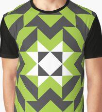 GREEN GREEN MODULES Graphic T-Shirt