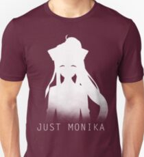 Just Monika Doki Doki Literature Club Unisex T-Shirt