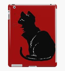 Life With Black Cats Vector iPad Case/Skin