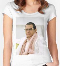 Jeff Goldblum Women's Fitted Scoop T-Shirt