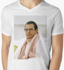 Jeff Goldblum Men's V-Neck T-Shirt