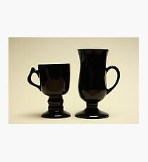 Two Friends For Coffee Photographic Print