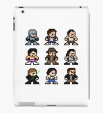 8-bit 80s Action Movies iPad Case/Skin