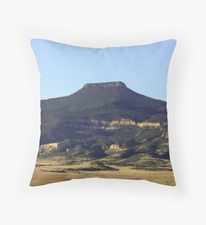 Cerro Pedernal Throw Pillow