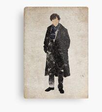 Sherlock Holmes (Benedict Cumberbatch) Metal Print