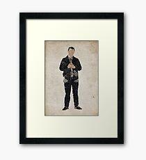 John Watson (Martin Freeman) Framed Print