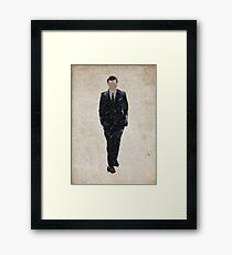 Professor Moriarty (Andrew Scott) Framed Print