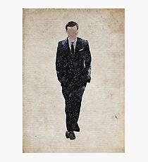 Professor Moriarty (Andrew Scott) Photographic Print
