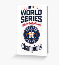 2017 World Series Champions Houston Astros_Style 01 Greeting Card