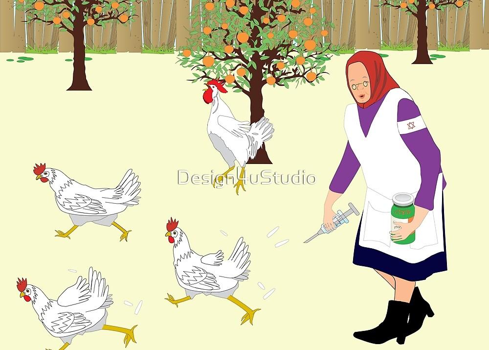 Chicken soup by Design4uStudio