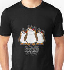 Porg Borg Unisex T-Shirt