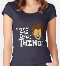 Zhu Li Do The Thing! Women's Fitted Scoop T-Shirt