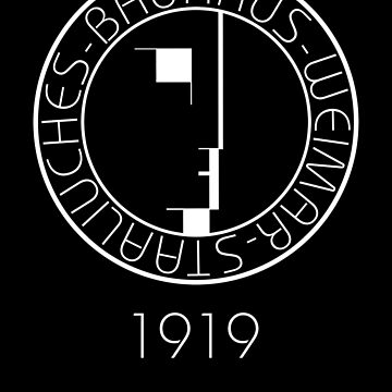 Bauhaus (Art School) - Logo 1919 by createdezign