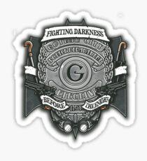 Gotham Crest Sticker