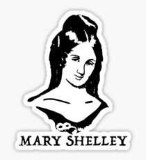 Mary Shelley Sticker