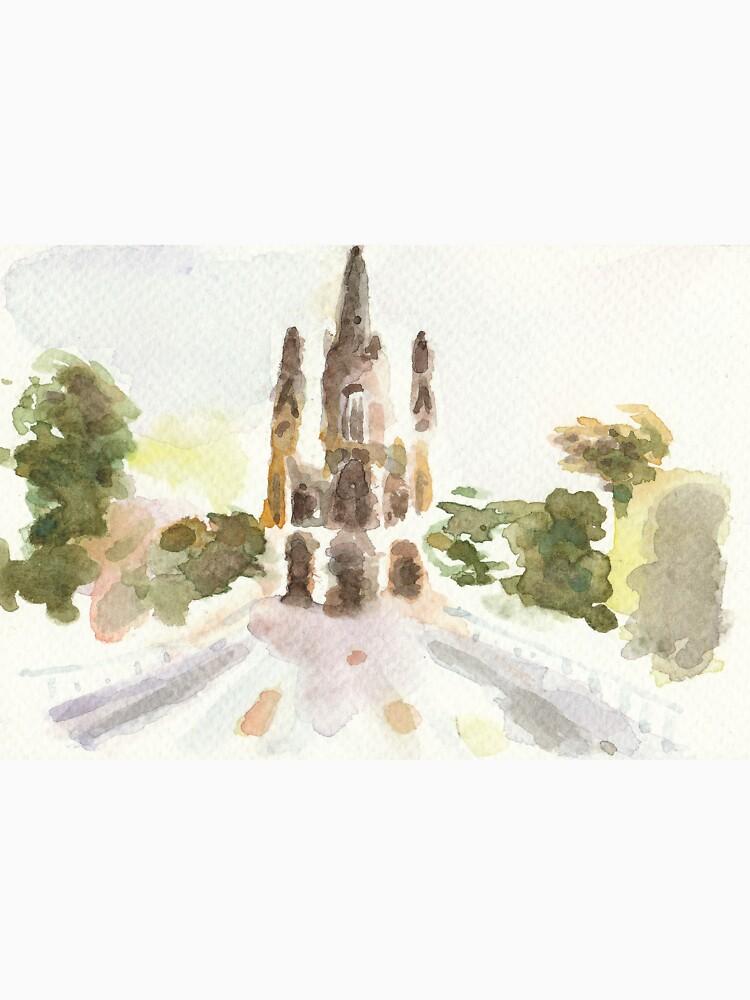 Poetic Brussels: Church of Our Lady of Laeken by yanak