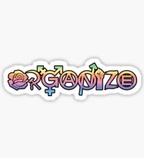 ORGANIZE Sticker