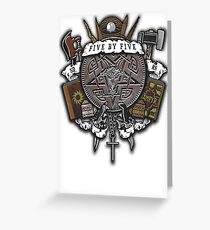Sunnydale Crest Greeting Card