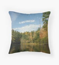 Northwoods Reflections Throw Pillow
