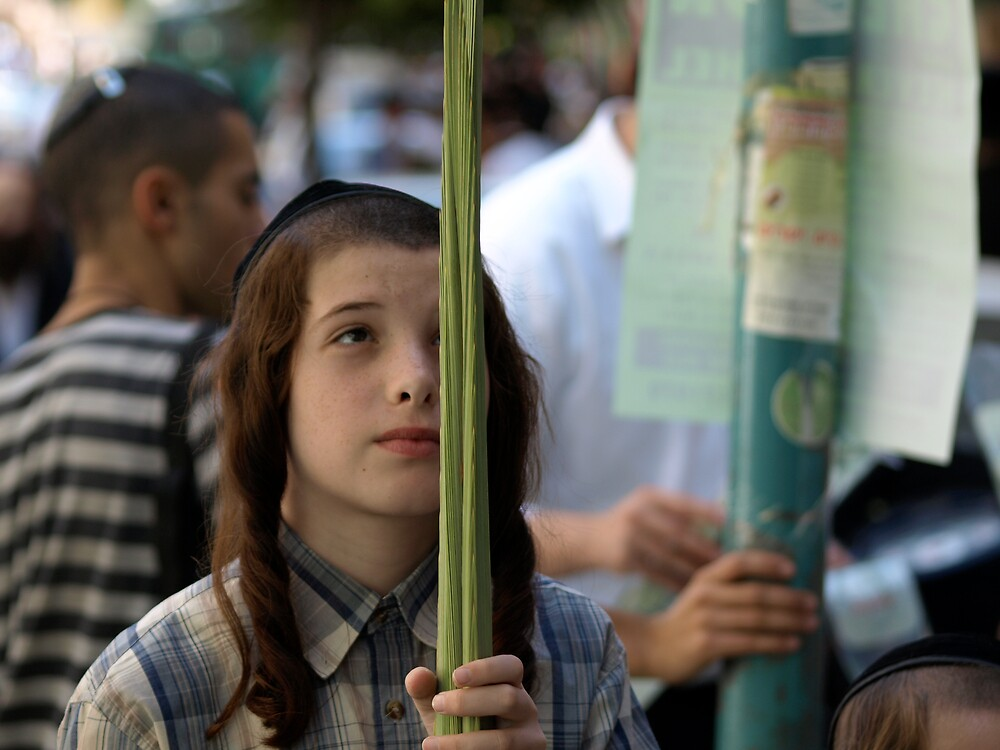 The boy and the Lulav by MichaelBr