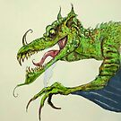 Big green dragon by Extreme-Fantasy