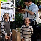 Children in Mea Shearim 1 by MichaelBr