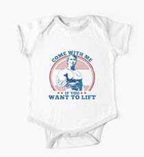 come wit me if you want to lift - arnold schwarzenegger Kids Clothes