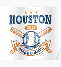 Houston 2017 World Series Champs Poster
