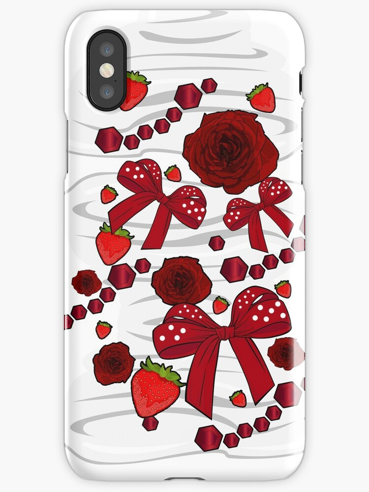 Strawberry Diamond Decor by Adam Santana