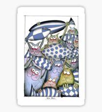 Kitty Blues Sticker