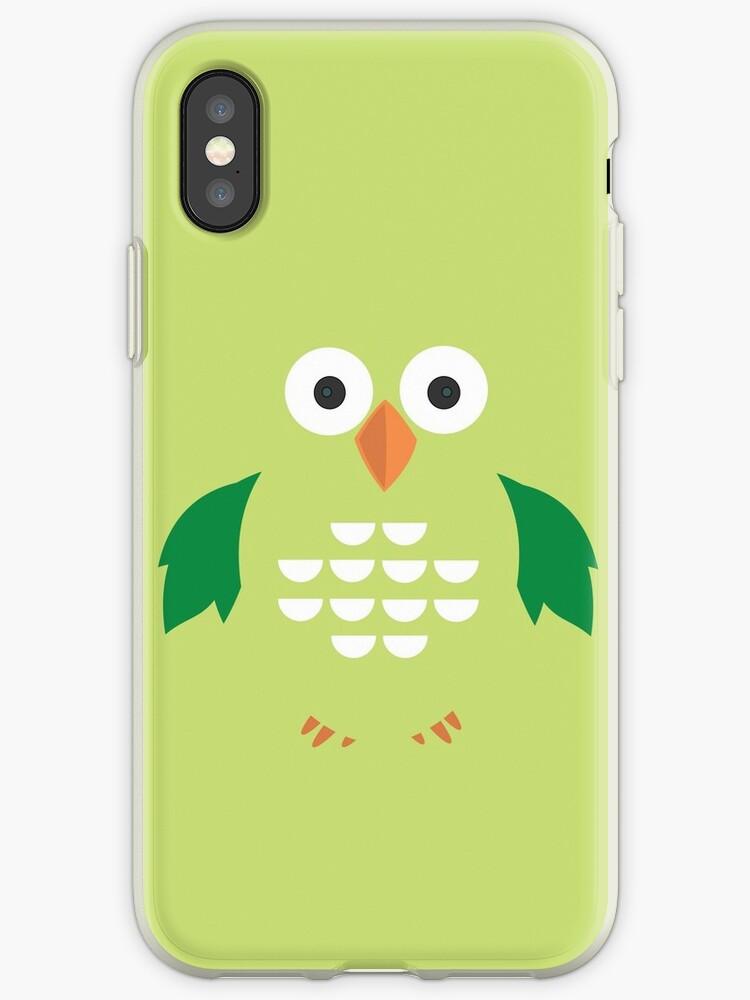 Green & Green Owl by Adam Santana