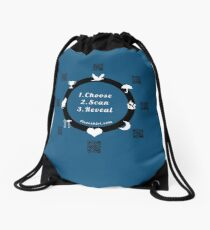 Horoscope tshirts, predict the future of family and friends  Drawstring Bag