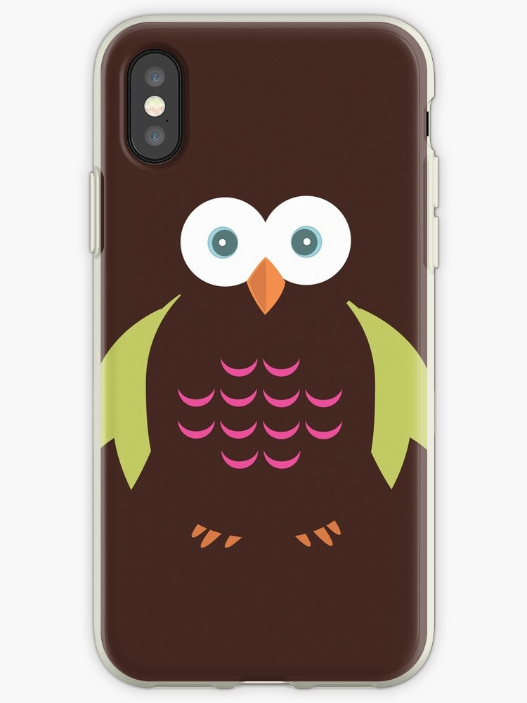 Brown & Green Owl by Adam Santana